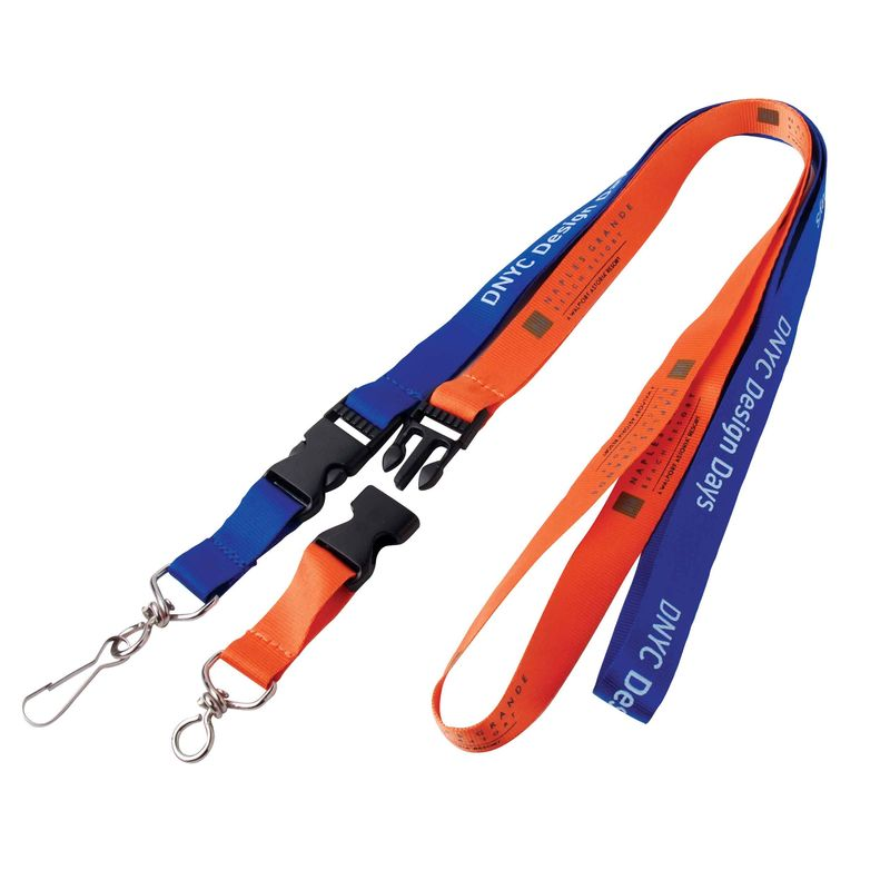Split Ring Nylon Lanyard Flash Drive 128MB - 512MB Capacity For Gift