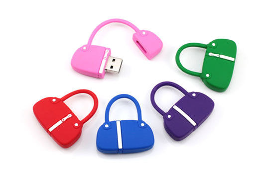 Unique Silicone Customized Thumb Drives High Speed 128GB USB 3.0