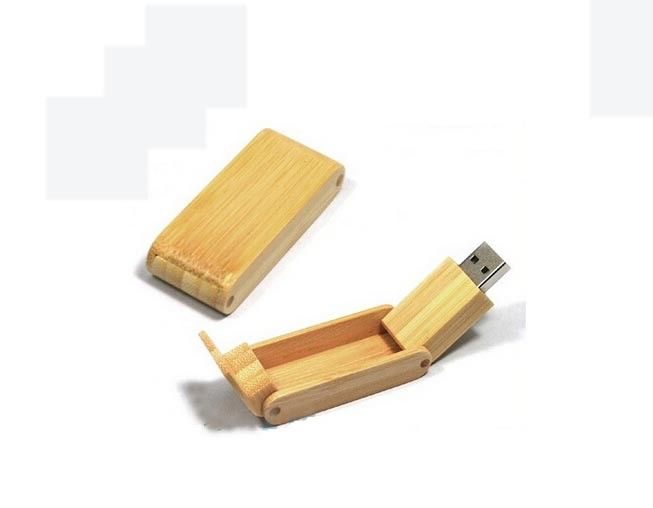 Memory Wood USB Flash Drive rotating usb 2.0 engraved memory stick 4GB