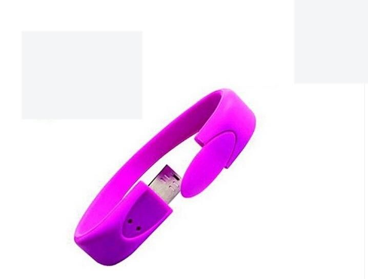 4GB Wristband USB Flash Drive Bracelets 100% Capacity wristband thumb drive