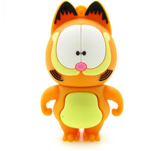 cartoon Garfield cat animal usb flash drive 32GB USB drive 4GB  flash memory disk