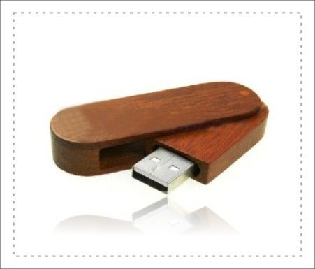 High Storage Wood USB Flash Drive With Logo / Usb Wooden Memory Sticks