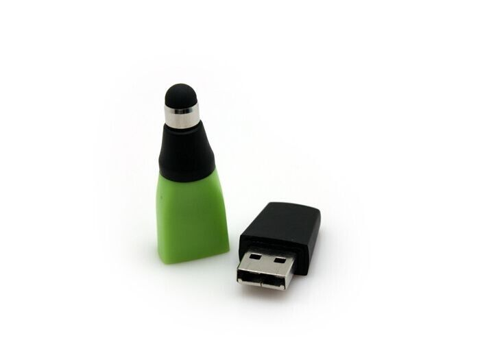 Security Waterproof Usb Flash Drive High Writing Speed Customized Logo